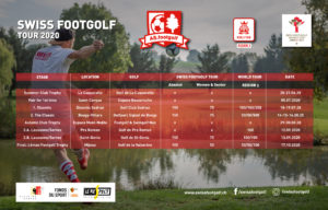Swiss Footgolf Tour 2020 - Calendar v2.0